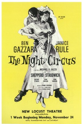 Framed (Broadway) Night Circus Print