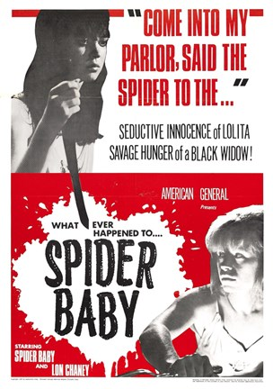 Framed Maddest Story Ever Told Spider Baby or Print