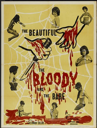 Framed Bloody, The Beautiful Print