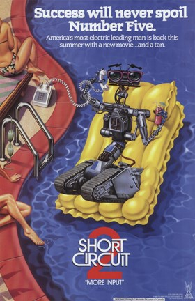 Framed Short Circuit 2 Print