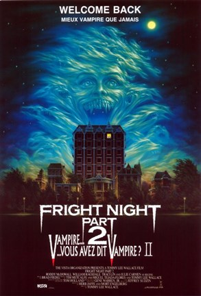 Framed Fright Night Part II Print