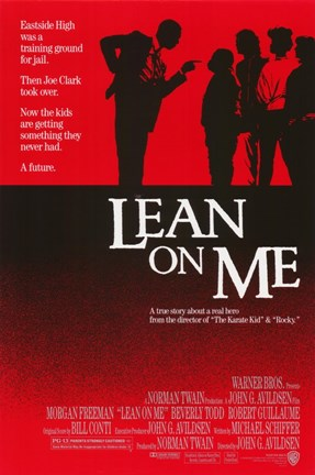 Framed Lean on Me Print