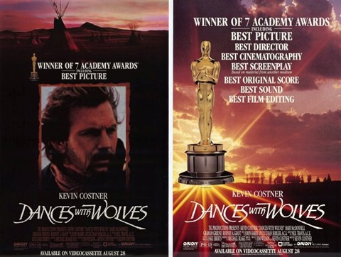 Framed Dances With Wolves Split Print