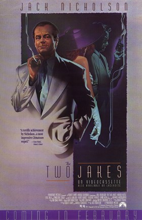Framed Two Jakes movie poster Print