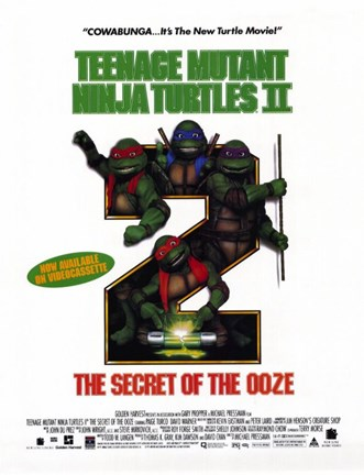 Framed Teenage Mutant Ninja Turtles 2: The Secret of the Ooze Print