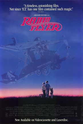 Framed Radio Flyer By Richard Donner Print