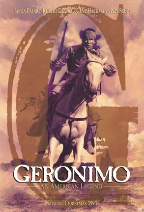 Framed Geronimo:  An American Legend Print