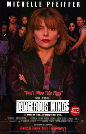 Framed Dangerous Minds Print