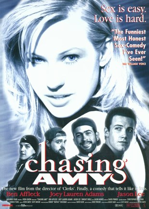 Framed Chasing Amy Love is Hard Print