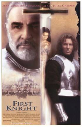 Framed First Knight Film Print