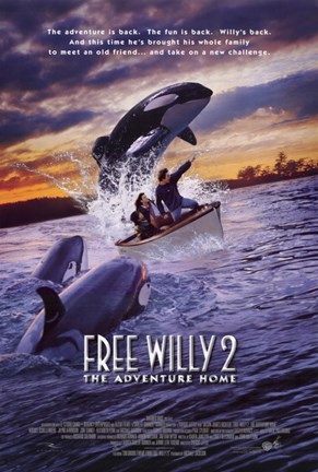 Framed Free Willy 2 The Adventure Home Print