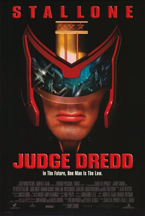 Framed Judge Dredd Film Print