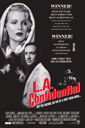 Framed L.A. Confidential Print