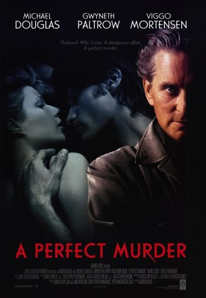 Framed Perfect Murder Print