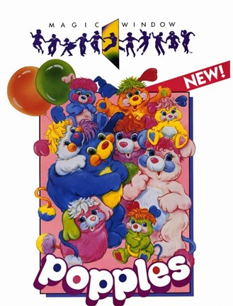 Framed Popples Print