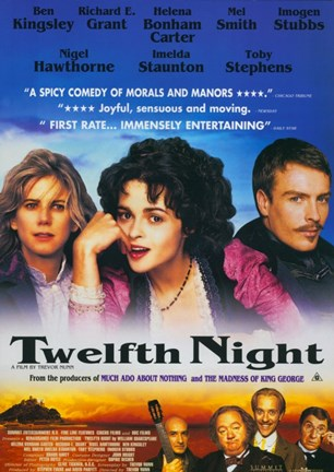 Framed Twelfth Night Helena Bonham Carter Print