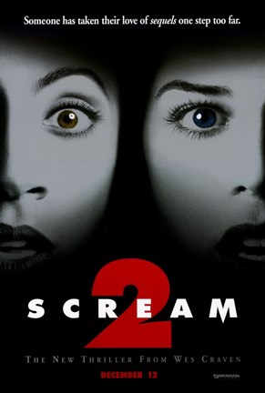 Framed Scream 2 Print