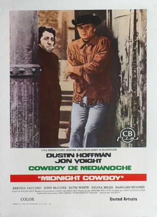 Framed Midnight Cowboy Print
