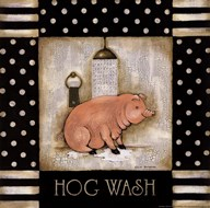 Hog Wash  Fine Art Print