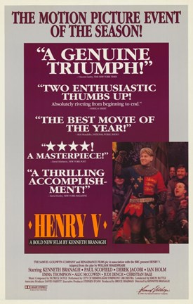 Framed Henry V - Motion Picture of Season Print