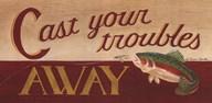 Cast Your Troubles Away  Fine Art Print