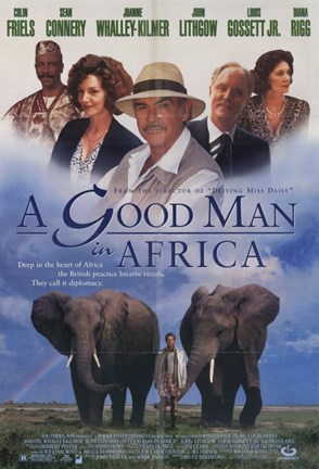 Framed Good Man in Africa Print