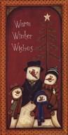 Warm Winter Wishes  Fine Art Print