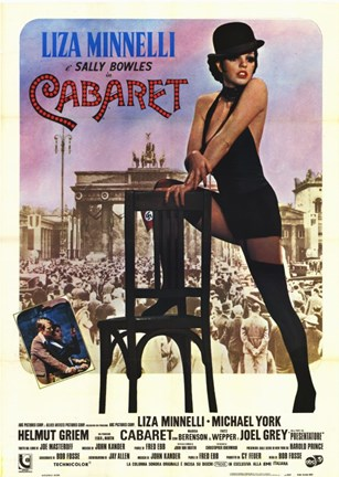 Framed Cabaret with Scene Print