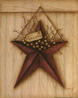 Welcome Barn Star Art