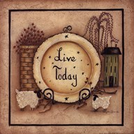 Live Today  Fine Art Print