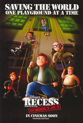 Framed Recess: School's Out Print