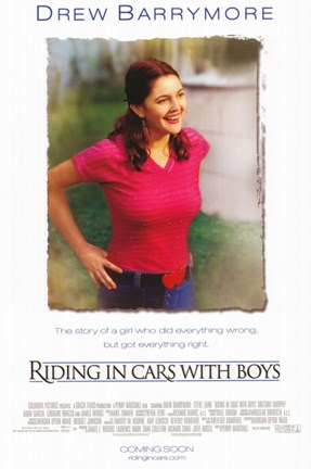Framed Riding in Cars With Boys Print