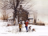 The Joy of Snow  Fine Art Print
