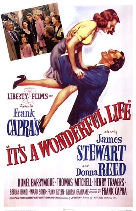 Framed It's A Wonderful Life Frank Capra - scene Print