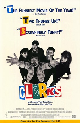 Framed Clerks - quotes Print