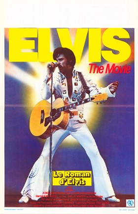 Framed Elvis - The Movie Print