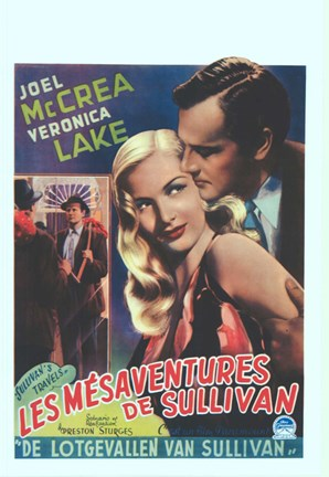 Framed Sullivan's Travels - Joel McCrea Print