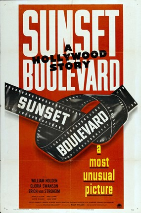 Framed Sunset Boulevard a Most Unusual Picture Print