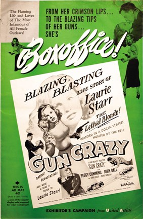 Framed Gun Crazy Story Of Laurie Starr Print