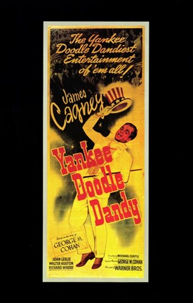 Framed Yankee Doodle Dandy In Yellow Print