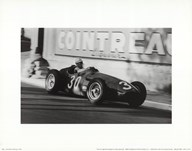 Grand Prix of Monaco, 1956  Fine Art Print