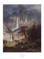 Cho-Looke, The Yosemite Fall, 1864 Art