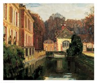 Walter Gay - Chateau du Breau Size 41x48