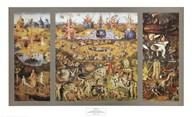 The Garden of Delights c. 1480  Fine Art Print