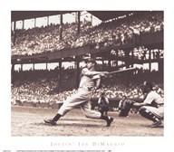 Joltin' Joe DiMaggio  Fine Art Print