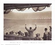 Home Run  1939 World Series  Fine Art Print