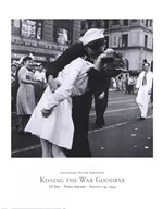 Kissing the War Goodbye, VJ Day, Times Square, August 14, 1945 Art