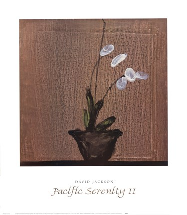 Framed Pacific Serenity II Print