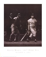 Roger Maris - 61st Home Run  Fine Art Print