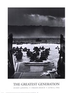 The Greatest Generation D-Day Landing Omaha Beach June 6, 1944